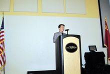 王岳川2010年4月在美国肯尼索大学讲演